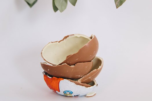 A short history of Kinder Eggs